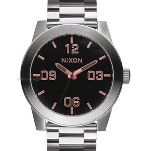 Corporal SS Nixon watch gray rose gold